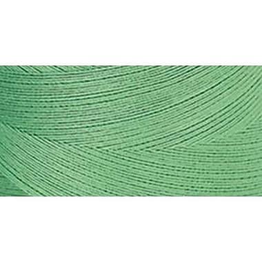 Star Mercerized Cotton Thread Solids, Bright Green, 1200 Yards