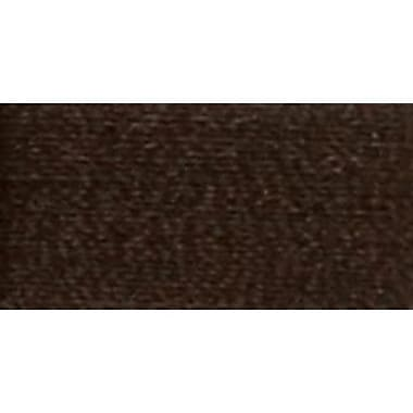 Woolly Nylon Thread Solids, Deep Brown, 1000 Meters