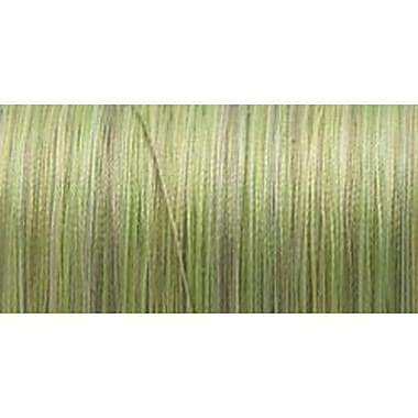 Silk Variegated Thread, Variegated Greens, 200 Meters