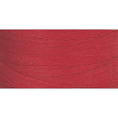Star Hand Quilting Thread Solids, Red, 500 Yards