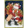 Christmas Cotton Fabric, Santa, 43/44in.W