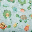 Babyville PUL Waterproof Diaper Fabric, Playful Pond Turtles & Frogs, 64in. Wide