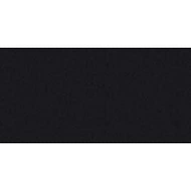 Broadcloth Solid, Black, 45