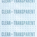 Self Adhesive Vinyl, Super Double Polished Clear,18in. Wide