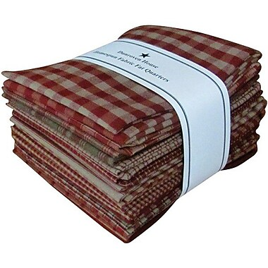Fat Quarter Bundle, Red, 21