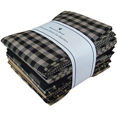 Fat Quarter Bundle, Black, 21