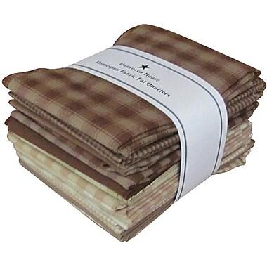 Fat Quarter Bundle, Brown & Natural, 21