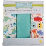 "Babyville PUL Waterproof Diaper Fabric, 21""x24"" cuts"