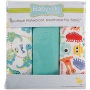 "Babyville PUL Waterproof Diaper Fabric, 21""x24"" cuts"