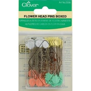 Clover Flower Head Pins 2, 100/Pack