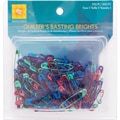 Basting Brights Safety Pins, Size 1, 200/Pkg