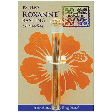 Colonial Needle Roxanne Basting Hand Needles, Size 7, 10/Pack