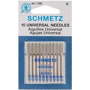 Universal Machine Needles, 10/Pkg