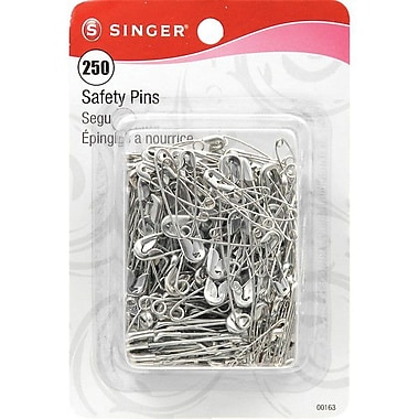 Singer Safety Pins Assorted Sizes
