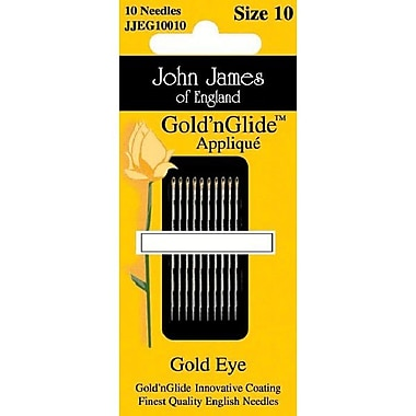 Gold'n Glide Applique Hand Needles, Size 9, 10/Pkg