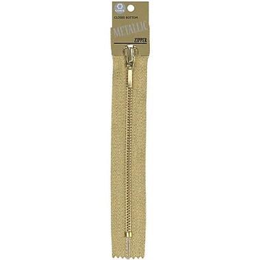 Fashion Metallic Closed End Zipper