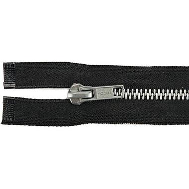 Heavyweight Aluminum Separating Metal Zipper, 24