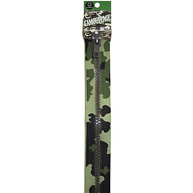 Fashion Camouflage Closed End Zipper, 9