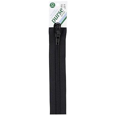 Purse Double Slider Zipper, 22