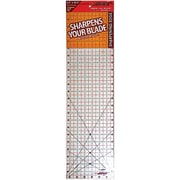 "The Cutting EDGE Clear Ruler, 6-1/2""X24-1/2"""