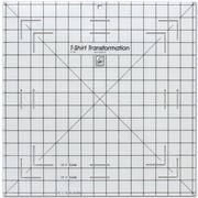 "T-Shirt Transformation Ruler, 15-1/2""X15-1/2"""