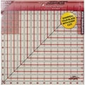The Cutting EDGE Frosted Ruler, 12-1/2in.X12-1/2in.
