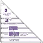 "Large Diagonal Set Triangle Ruler, 6""-16"" Blocks"