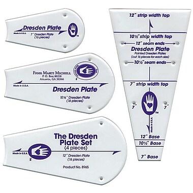 Perfect Patchwork Template, Regular Dresden Plate 4/Pkg