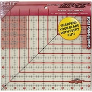 "The Cutting EDGE Frosted Ruler, 9-1/2""X9-1/2"""