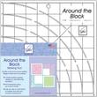 "Around The Blockw Ruler, 8""X8"""