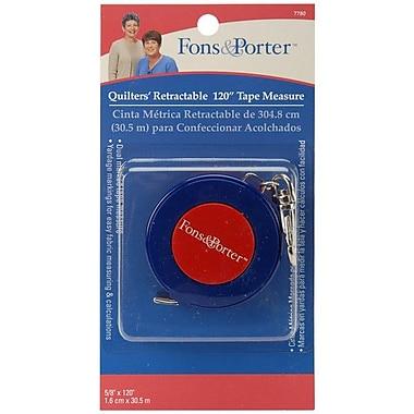 Fons & Porter Retractable Tape Measure, 120