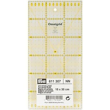 Omnigrid Metric Quilter's Ruler, 15cm X 30cm