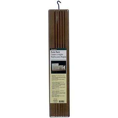 Omnigrid Wood Ruler Rack, 20