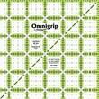 """Omnigrip Non-Slip Quilter's Ruler, 5-1/2""""X5-1/2"""""""