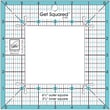 Get Squared Ruler, 6-1/2in. Outer, 3-1/2in. Inner