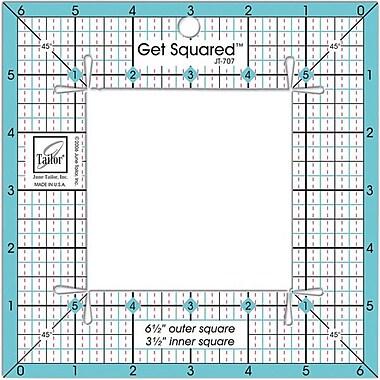 Get Squared Ruler, 6-1/2