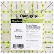 """Omnigrip Non-Slip Quilter's Ruler, 5""""X5"""""""