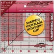 The Cutting EDGE Frosted Ruler, 6-1/2in.X6-1/2in.