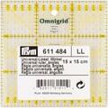 Omnigrid Metric Quilter's Ruler, 15cm X 15 Cm W/Angles