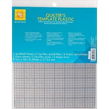 Plastic Templates, 8-1/2