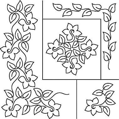 Quilt Stencils By Patricia Ritter, Daffodil, 17