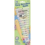 "Easy Dresden Quilting Ruler, 1"" to 7-1/2"""