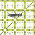 Omnigrip Non-Slip Quilter's Ruler, 3-1/2in.X3-1/2in.