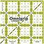 Omnigrip Non-Slip Quilter's Ruler, 3-1/2X3-1/2