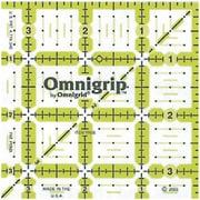"""Omnigrip Non-Slip Quilter's Ruler, 3-1/2""""X3-1/2"""""""
