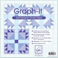 Graph-It,  Graph Paper, 12in.X12in.,  20/Pkg