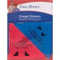 Fons & Porter Triangle Trimmers, 1/2in. & 1/4in., 2/Pkg