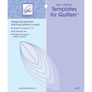 Mix'n Match Templates For Quilters,  6/Pkg, Leaf
