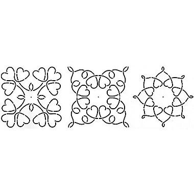 Quilt Stencils By Barbara Chainey, 5