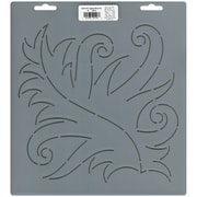 "Quilt Stencils By Patricia Ritter, 9"" Fancy Leaf"